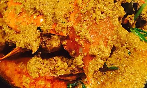 建兴酒家咖喱蟹的做法