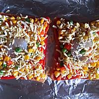 吐司面包披萨的做法流程详解5
