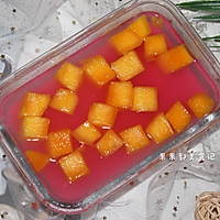 #花10分钟,做一道菜!#芒果布丁的做法图解9