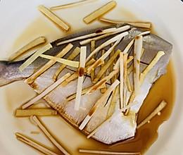 清蒸鲳鱼宝宝最爱的吃法的做法