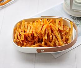 #快手又营养,我家的冬日必备菜品#自制地瓜条的做法