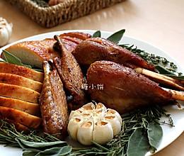 【烤火鸡】附:烤火鸡蘸酱Gravy的做法
