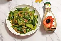 家常菜—泡菜炒黄瓜的做法