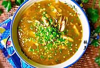 雪菜蛏子汤的做法