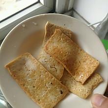 懒人美味煎豆腐