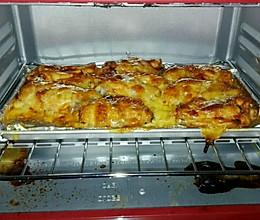 芝士焗烤鸡翅的做法
