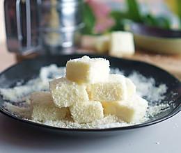 牛奶椰丝小方【超懒的懒人甜品】的做法