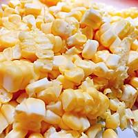 奶油鸡肉玉米意面的做法图解3