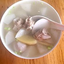 芋头萝卜排骨汤
