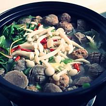 牛肉丸杂蔬汤