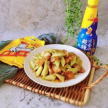 #豪吉川香美味#川香黄瓜肉片