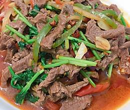 香菜炒牛肉丝的做法