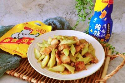 川香黄瓜肉片