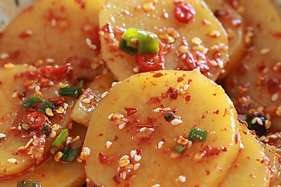 凉拌土豆片