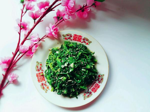 春天的野菜之【凉拌面条菜】