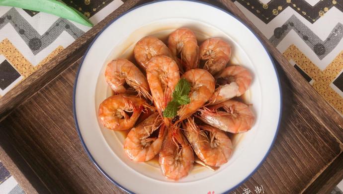 #花10分钟,做一道菜!#爆炒基围虾
