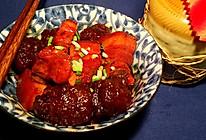 山芋粉圆子烧肉的做法