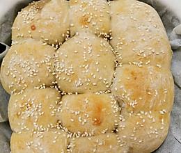 芋泥拉丝小餐包的做法