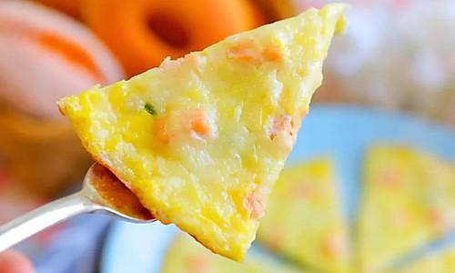 芝士菠菜煎蛋饼 宝宝辅食食谱的做法