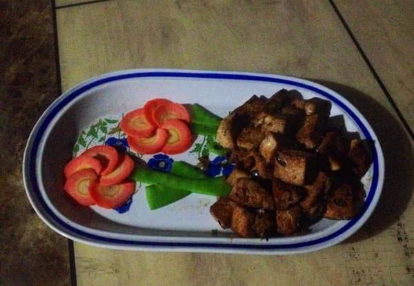 大喜大牛肉粉试用之干烧豆腐的做法
