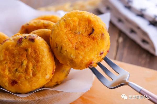 红薯燕麦饼  宝宝辅食食谱