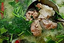 白菜羊肉汤的做法