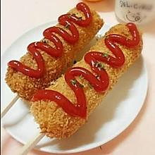 超级小吃——芝士热狗棒