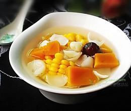 干鲜百合南瓜汤的做法