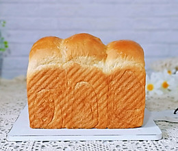 #秋天怎么吃#养乐多吐司面包的做法