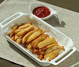外酥里软的炸薯条#博世红钻家厨#的做法