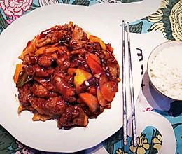 #肉食主义狂欢# 东北家常菜之 醋溜肉段的做法