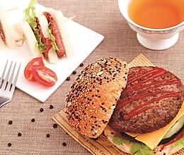 破风食味 番茄厚牛汉堡(美式)的做法