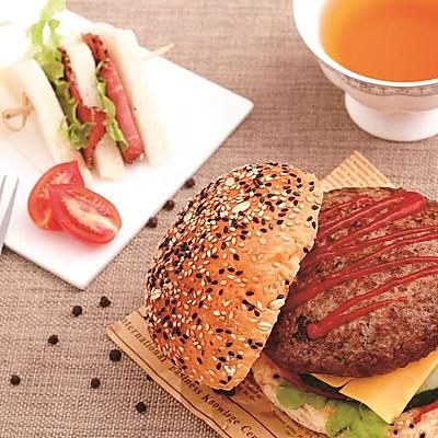 破风食味 番茄厚牛汉堡(美式)