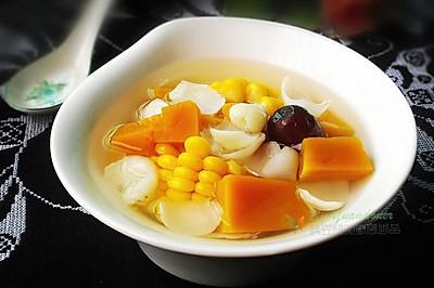 干鲜百合南瓜汤