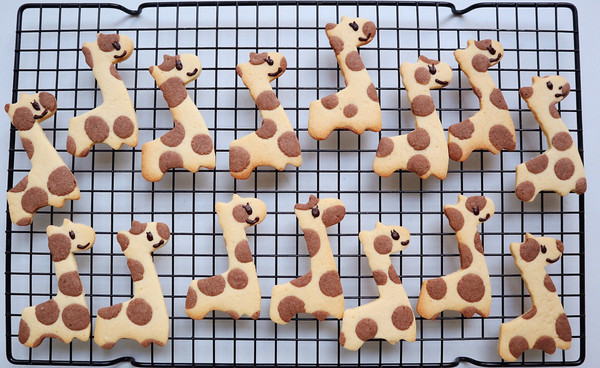 长颈鹿造型饼干