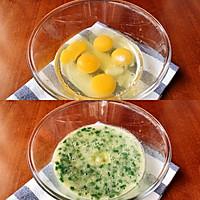 快手早餐:葱花鸡蛋饼的做法图解2
