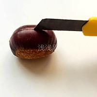糖水煮栗子的做法图解2