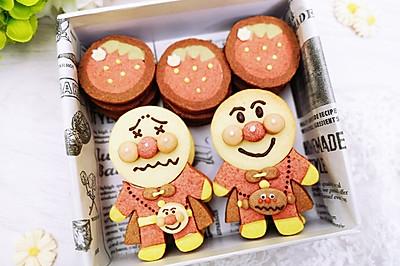 面包超人饼干,可爱到无法抗拒!~