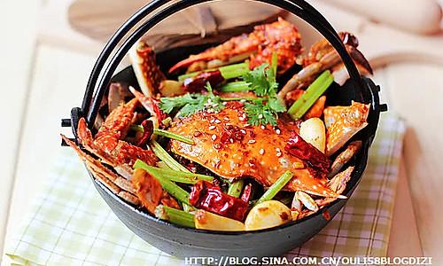 秘制香辣蟹的做法