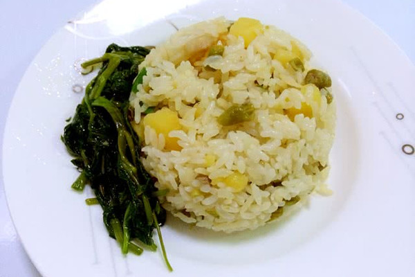 土豆豆角焖饭的做法
