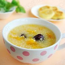 小米红枣南瓜粥