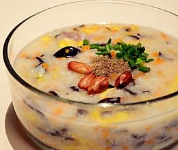 腊味砂锅粥的做法