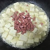 金针菇豆腐羹的做法图解7