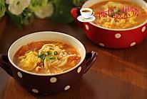 金针菇番茄蛋汤#舌尖上的春宴#的做法
