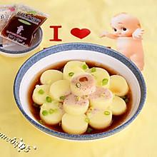 玉子豆腐沙拉#丘比沙拉汁#