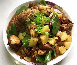 土豆炖鸡肉家常版的做法