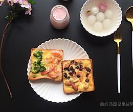 早餐清淡快手餐,滋润,营养的做法