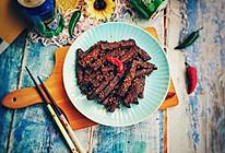 #令人羡慕的圣诞大餐#川香麻辣牛肉干的做法