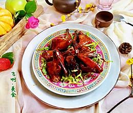 浓油赤酱本帮酱乳鸽的做法