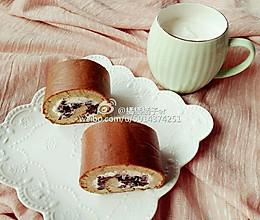 芝麻粉蜜豆卷的做法